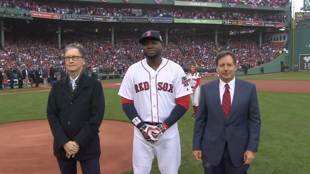 Red Sox to retire Papi's No. 34