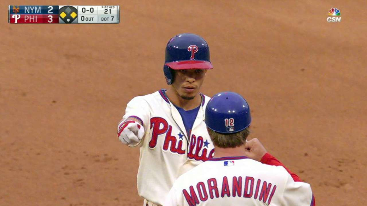 Phils top Mets to end 2016 on a high note