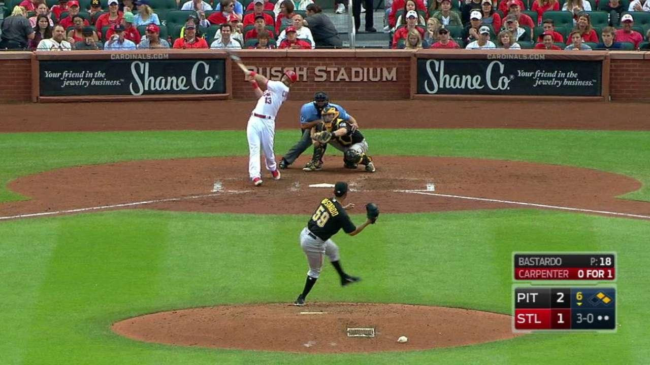 Carpenter's go-ahead home run