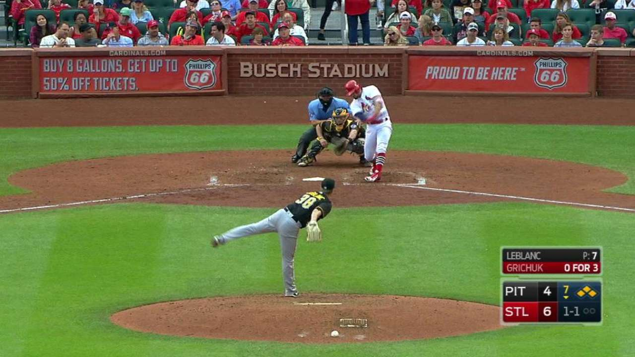 Grichuk ready to rebound after knee issue