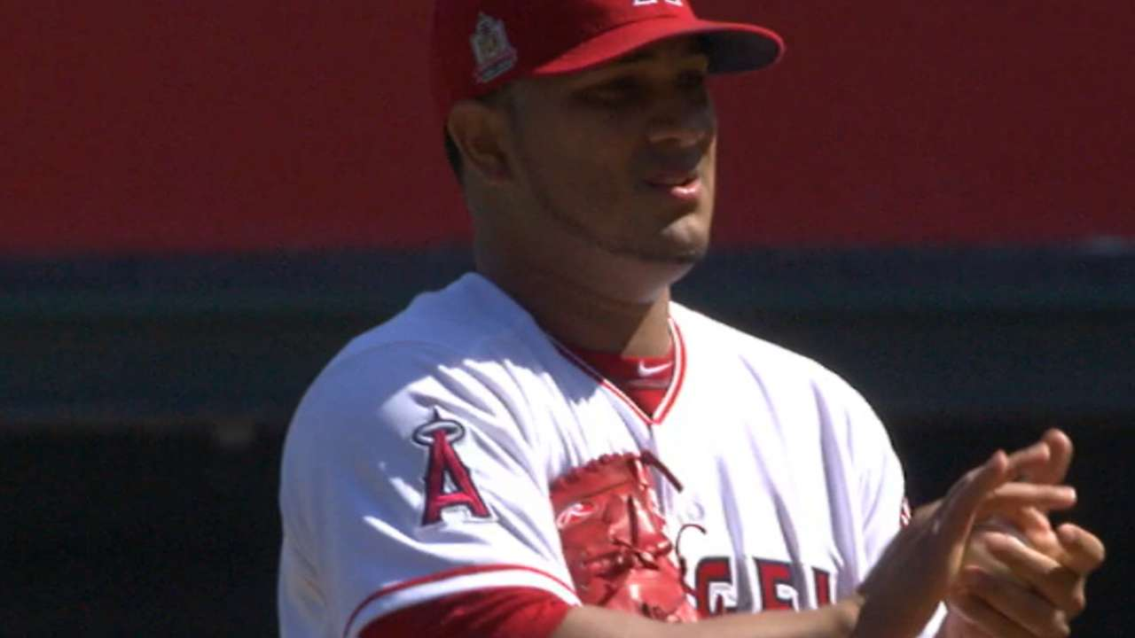 Chacin's scoreless outing
