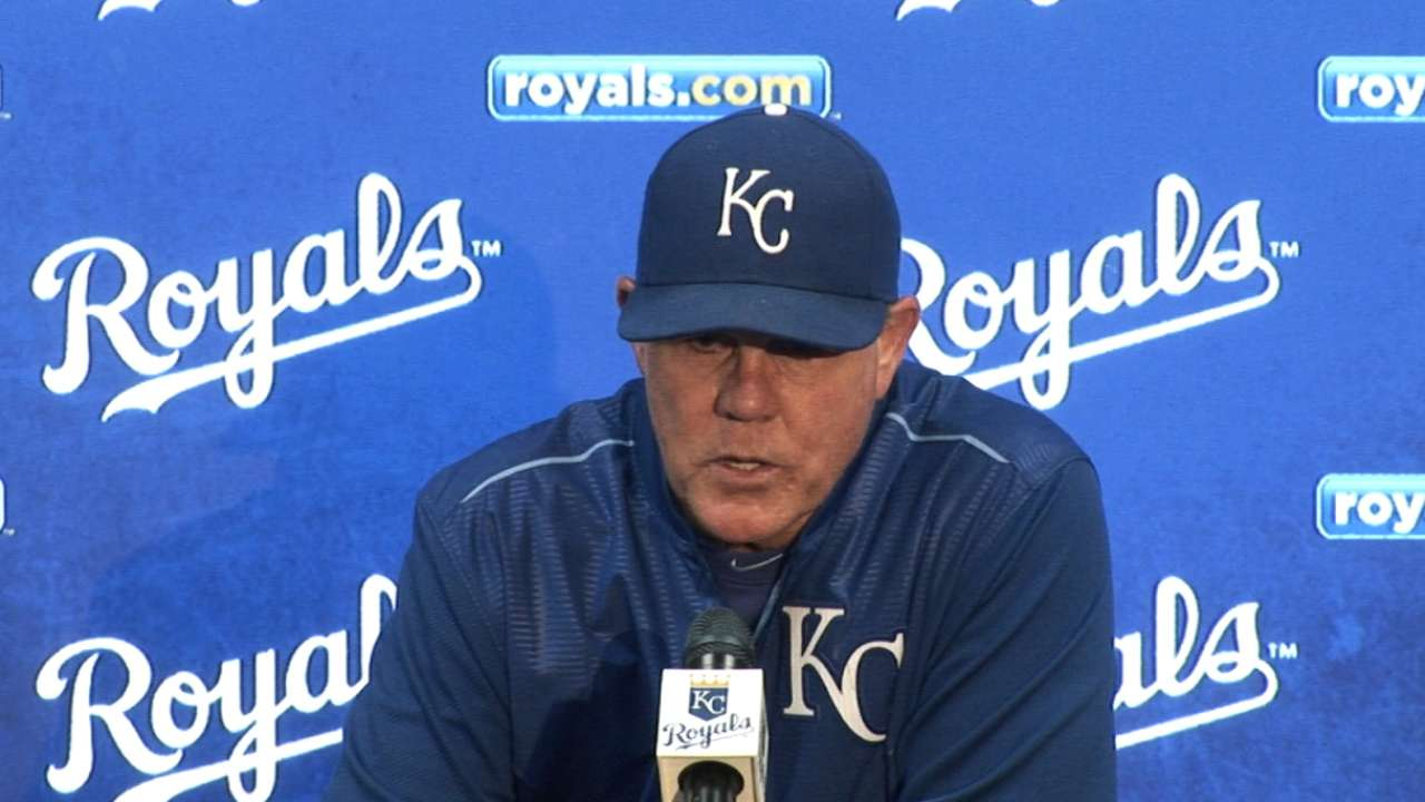 Yost on 3-2 loss to Indians