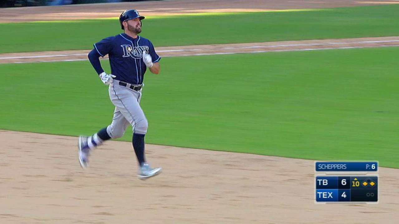 Rays work extra to top Rangers in 2016 finale