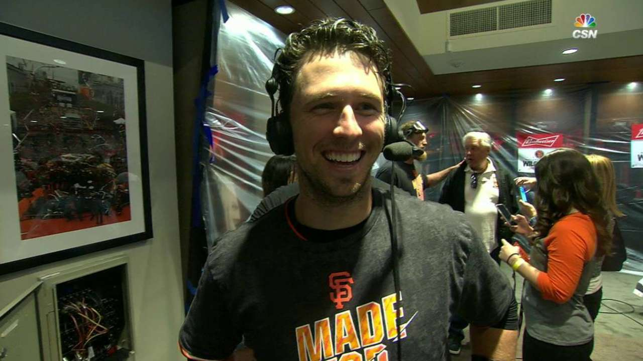 Posey on clinching win