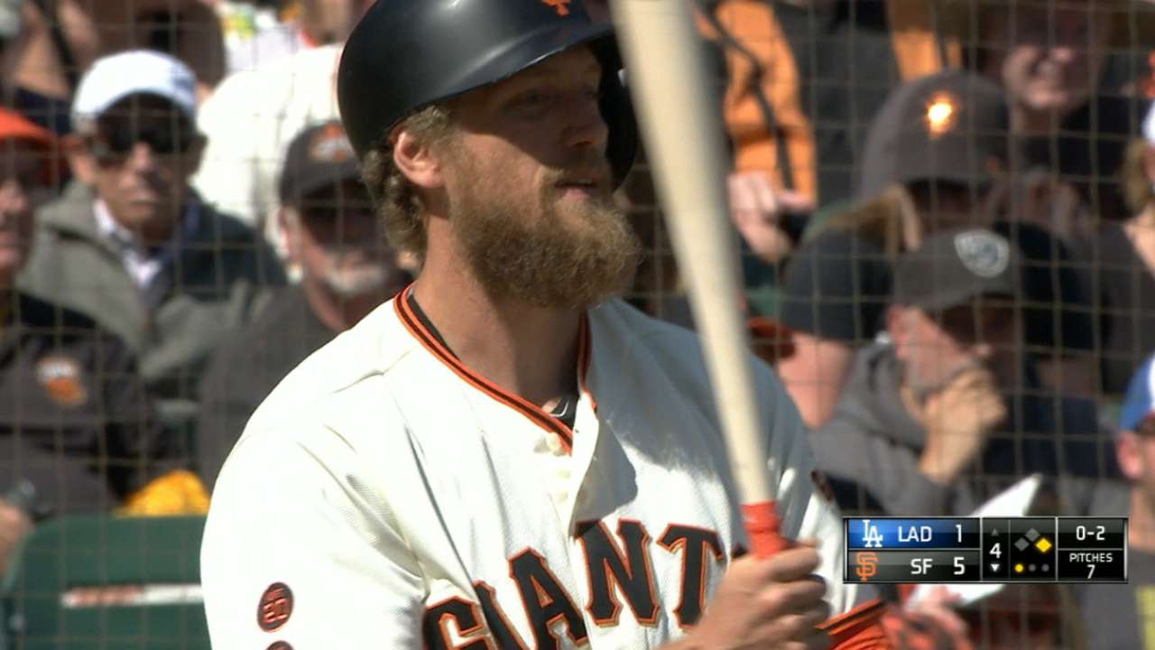Before he was postseason-bound: Hunter Pence