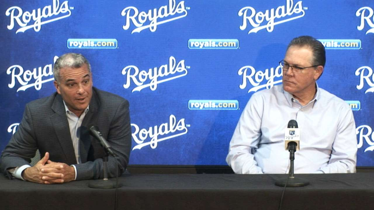 Moore, Yost talk Royals' future