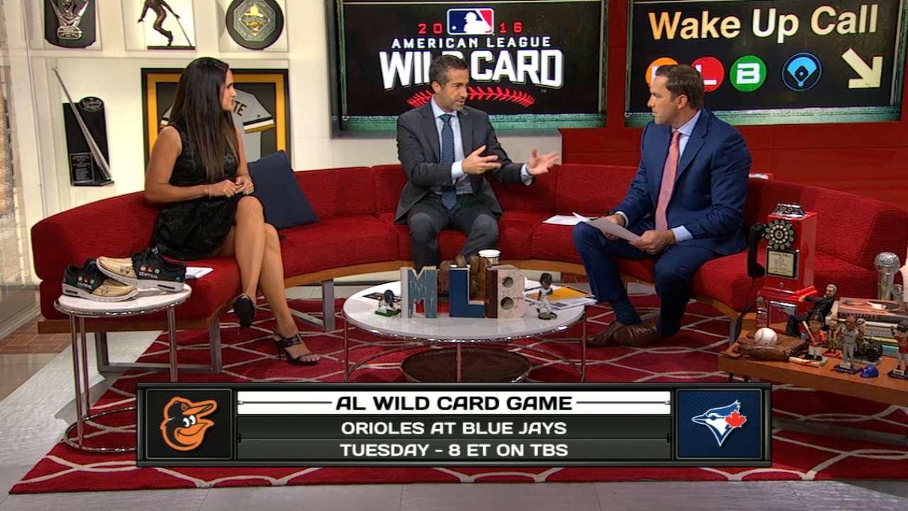 MLB Central on AL Wild Card Game