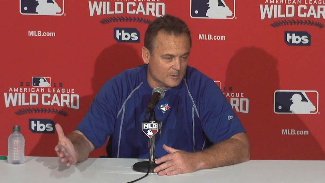 Oct. 3 John Gibbons workout day interview