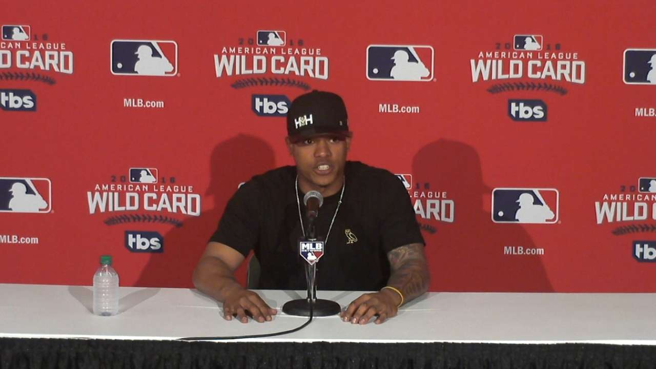 Oct. 3 Marcus Stroman workout day interview