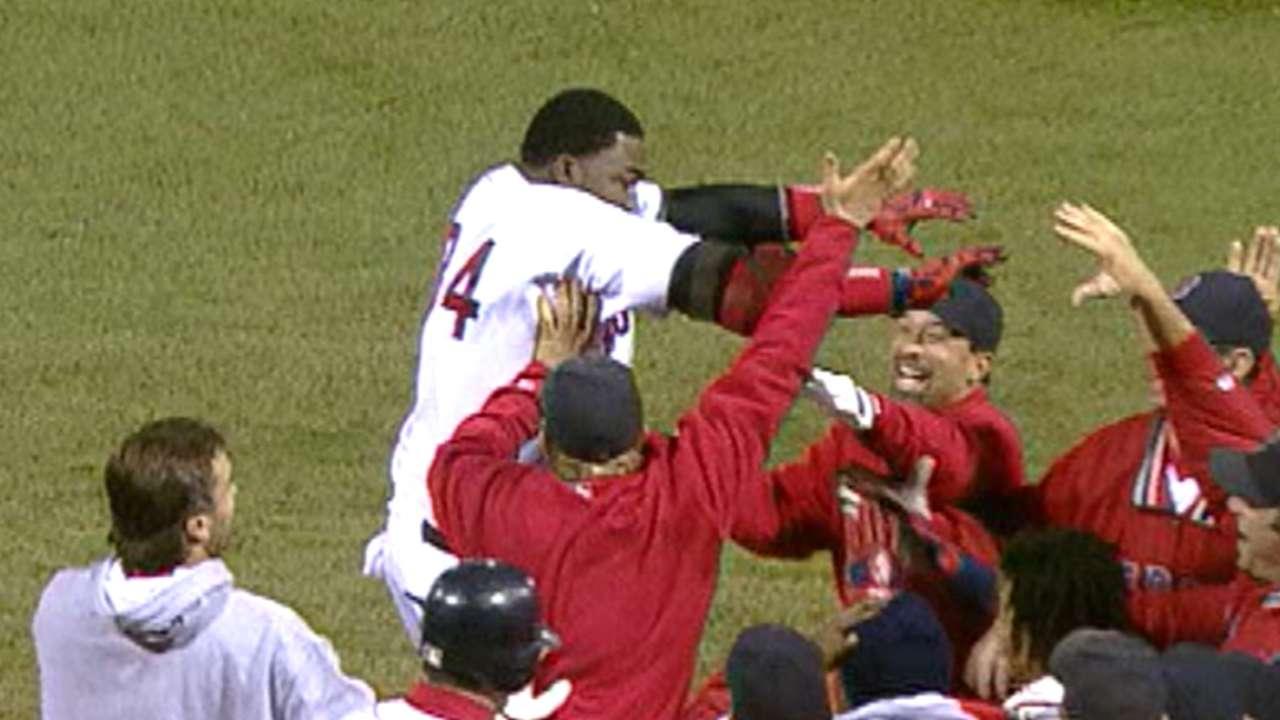 Ortiz's walk-off homer