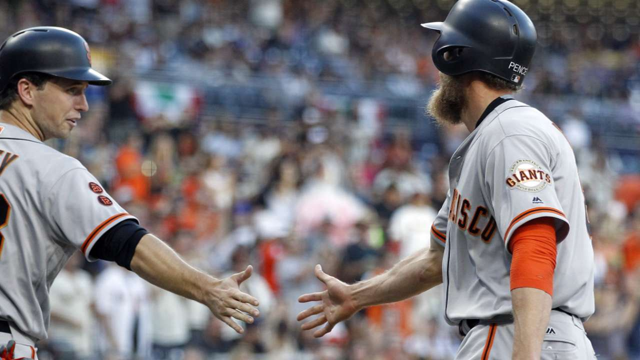 Pence, Posey on leading the team