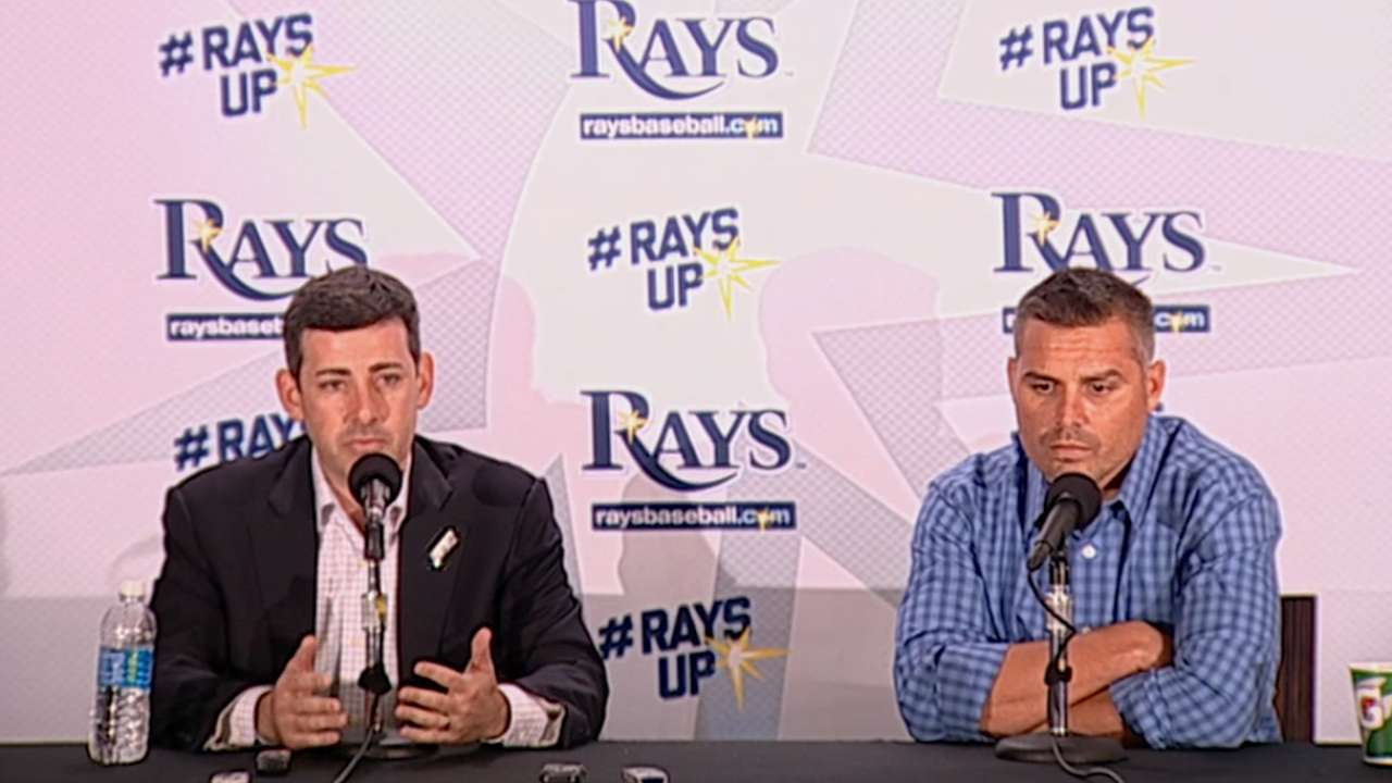 Silverman, Cash want Rays 'back in contention'
