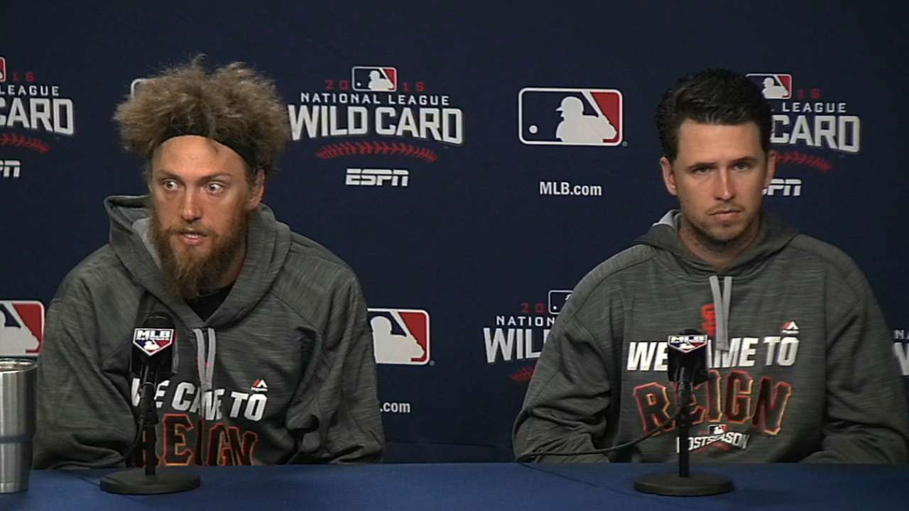 Pence, Posey on WC intensity