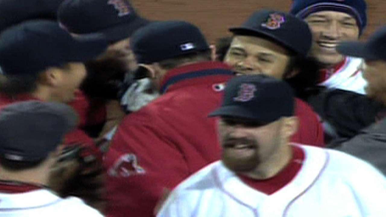 Red Sox win AL pennant