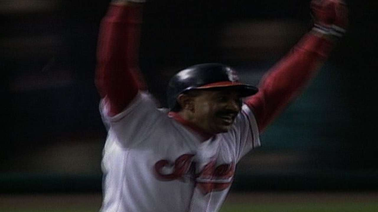 Pena's walk-off homer