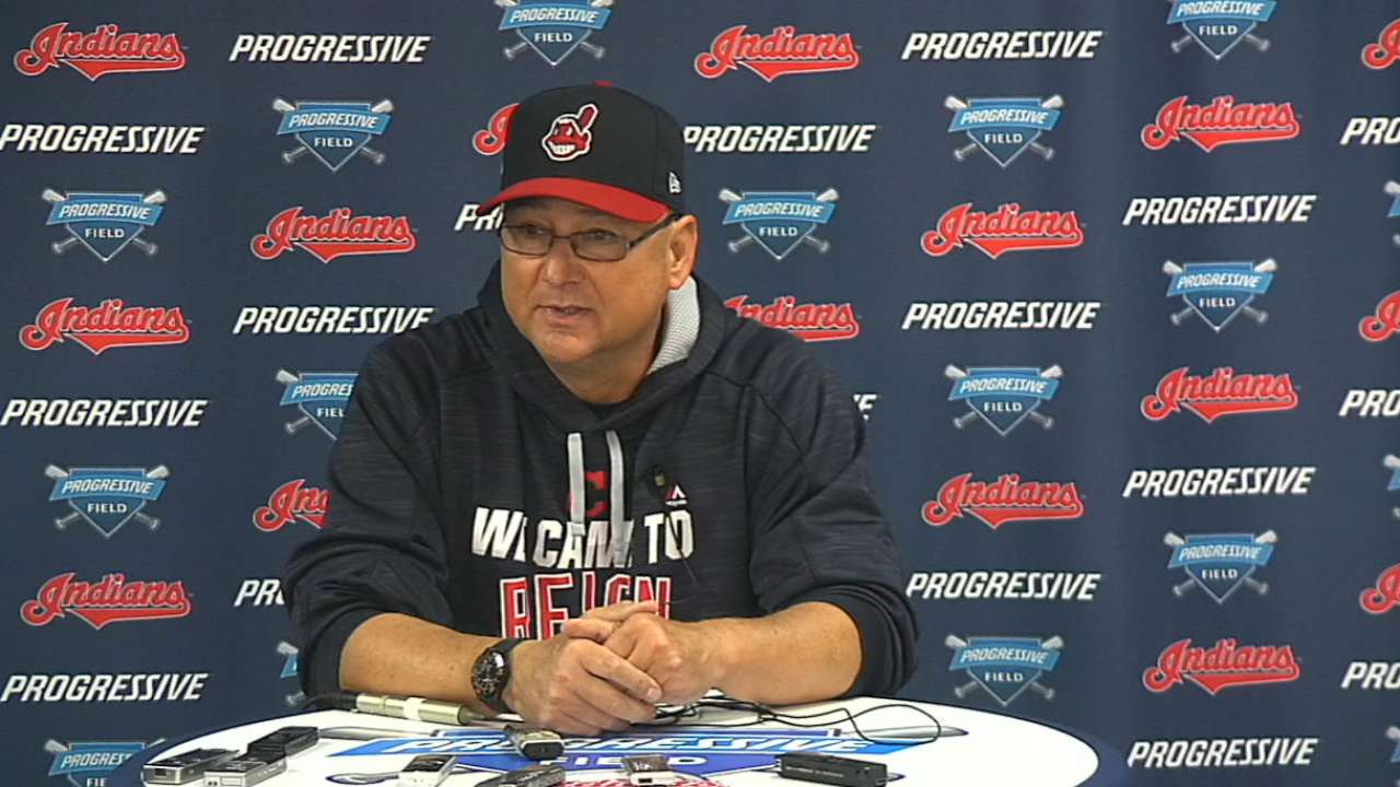 Francona excited for postseason