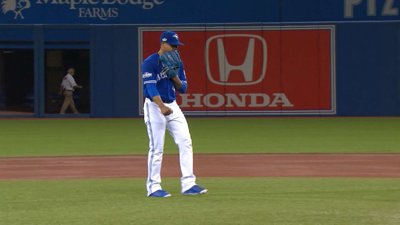Blue Jays discussing who will start Game 1 of ALCS