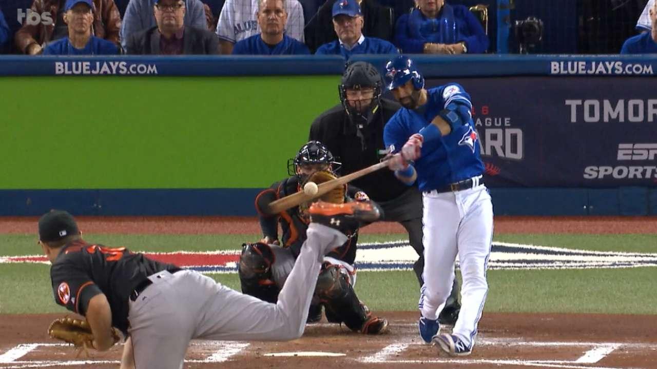 Bautista's 357-foot home run