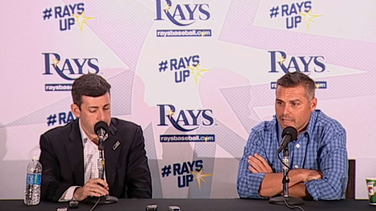 Rays 'optimistic' about improving in 2017