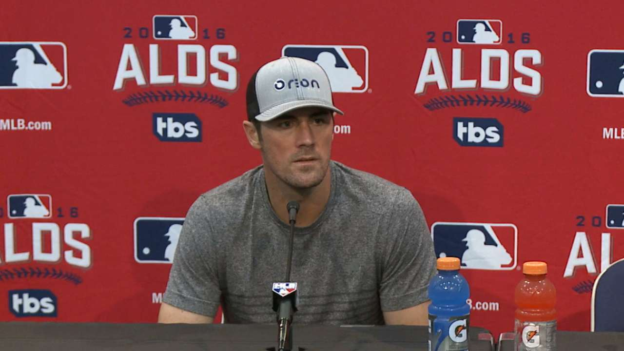 Oct. 5 Cole Hamels workout day interview