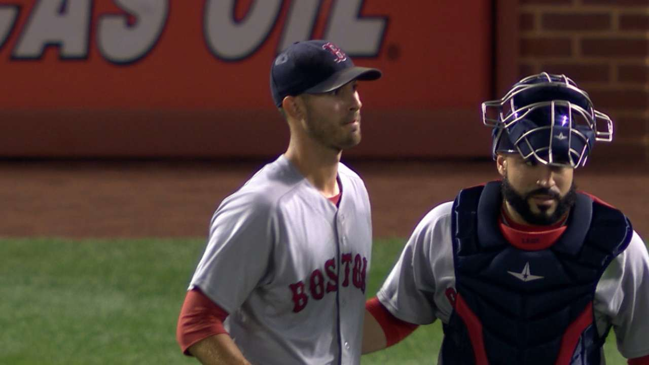 Oct. 5 Rick Porcello workout day interview