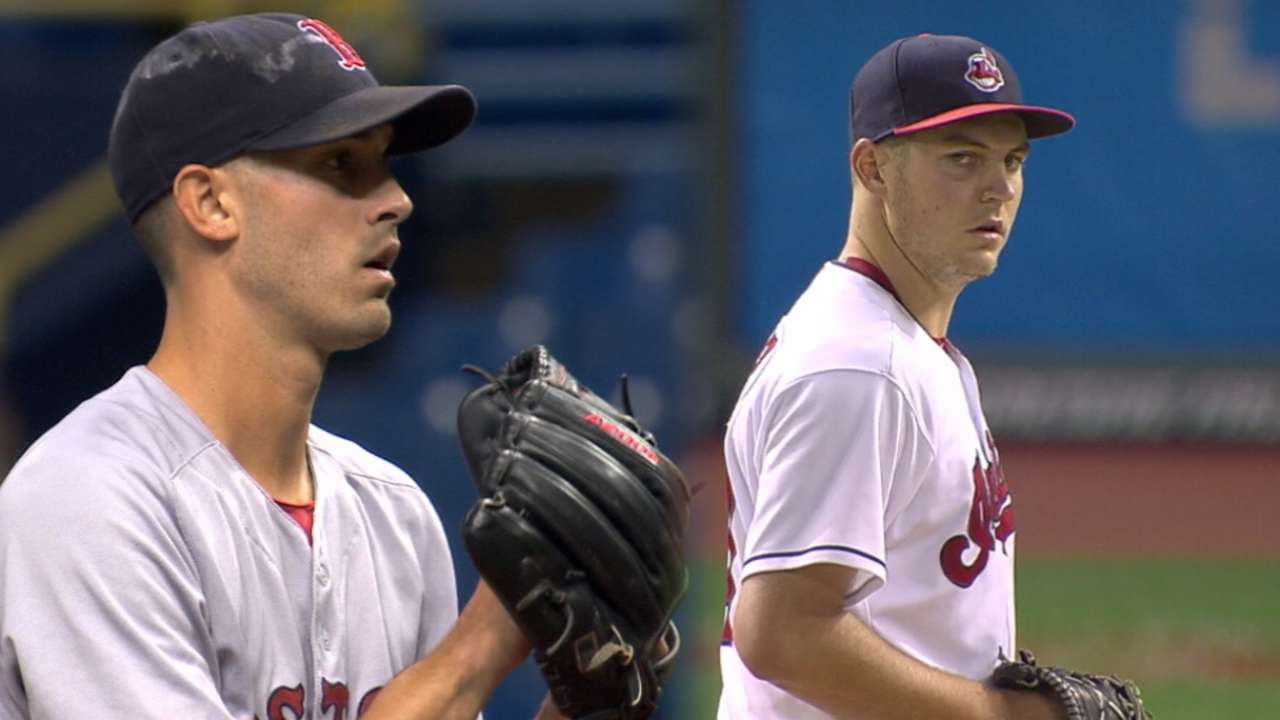 ALDS Game 1 lineups: Red Sox vs. Indians