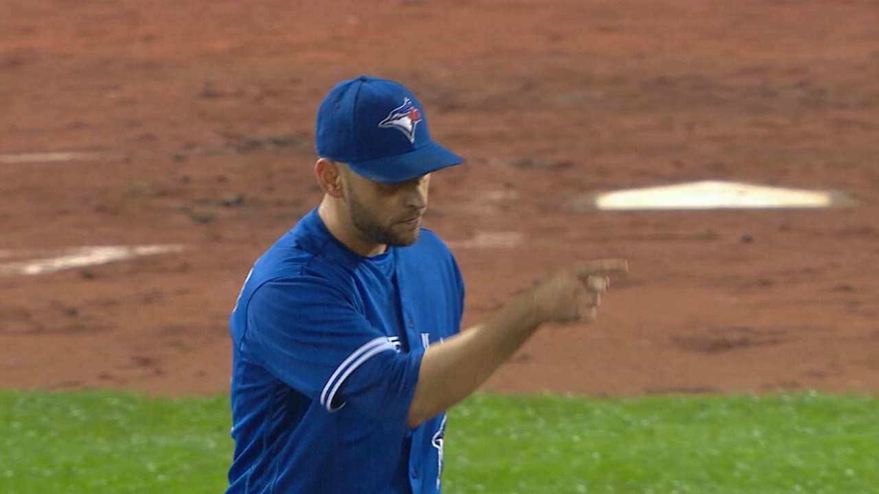 Oct. 5 Marco Estrada workout day interview