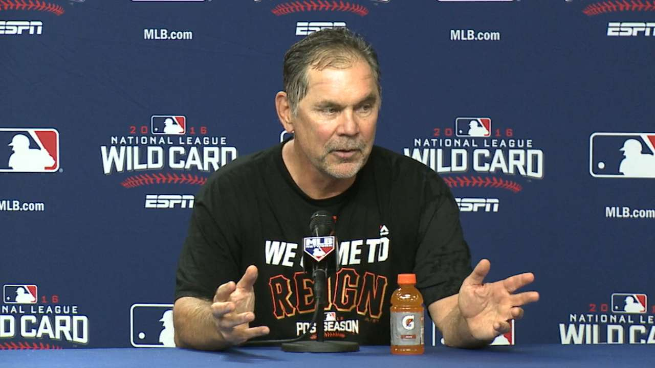 Bochy on Giants' 3-0 win
