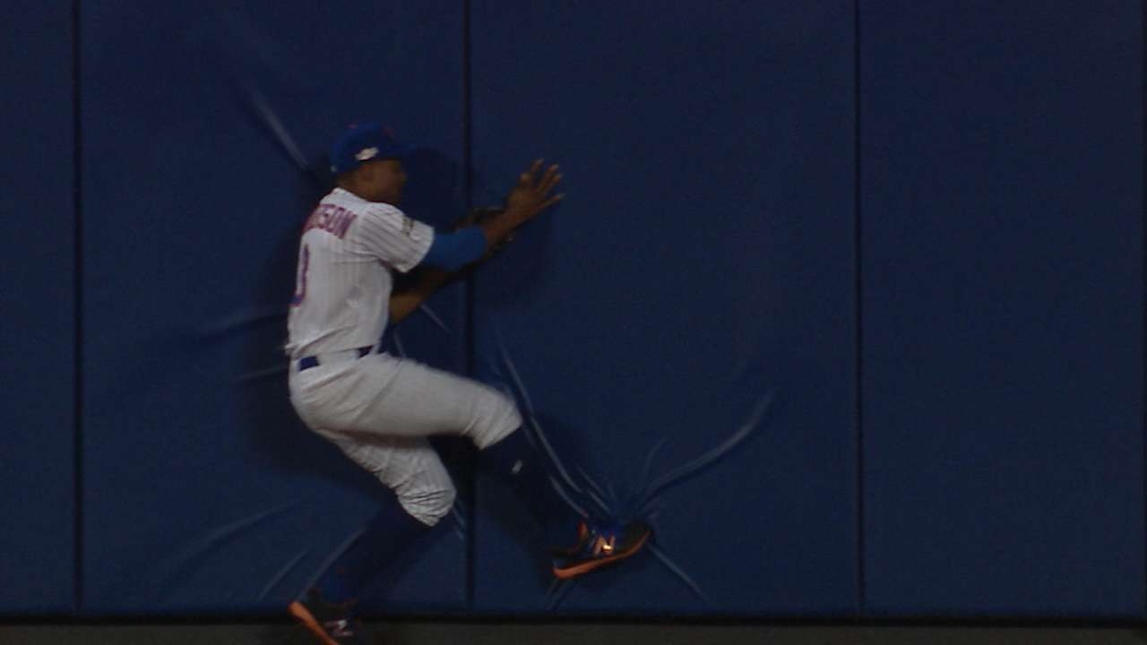 Must C: Granderson's wall catch