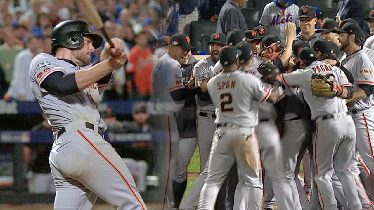 Mad skills: Bumgarner pitches Giants to NLDS