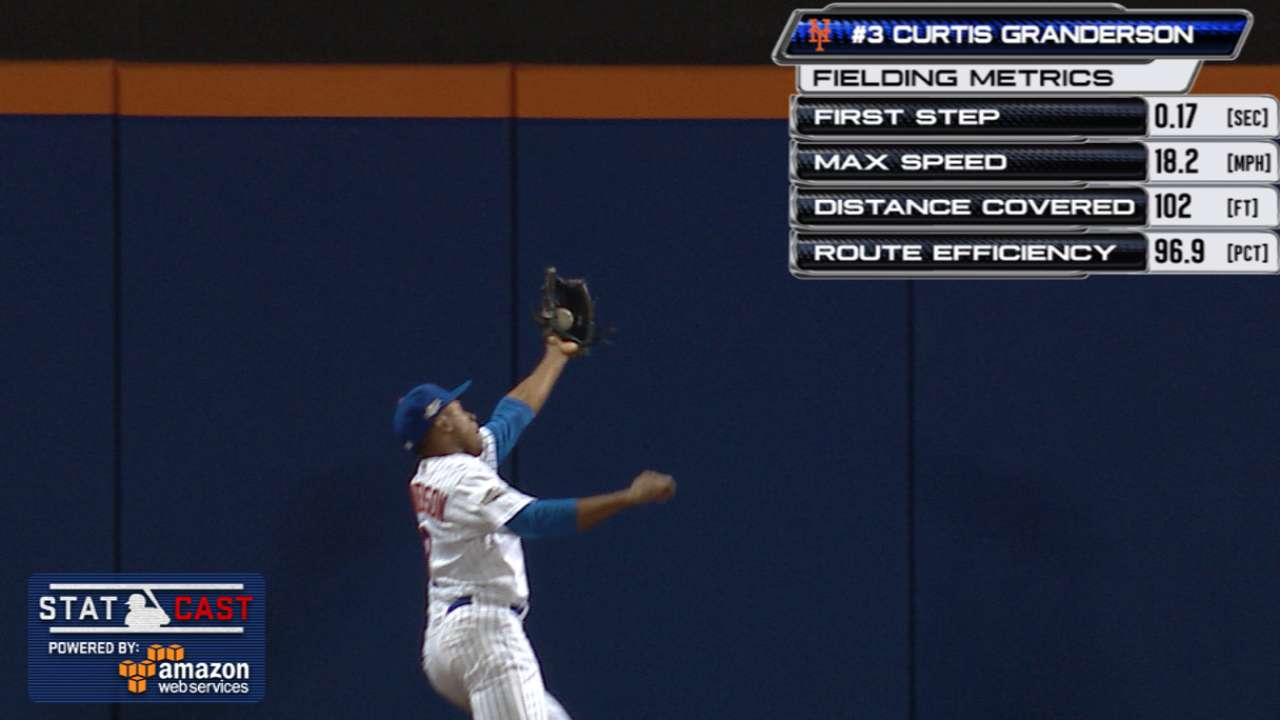Grandy makes amazing catch in Wild thriller