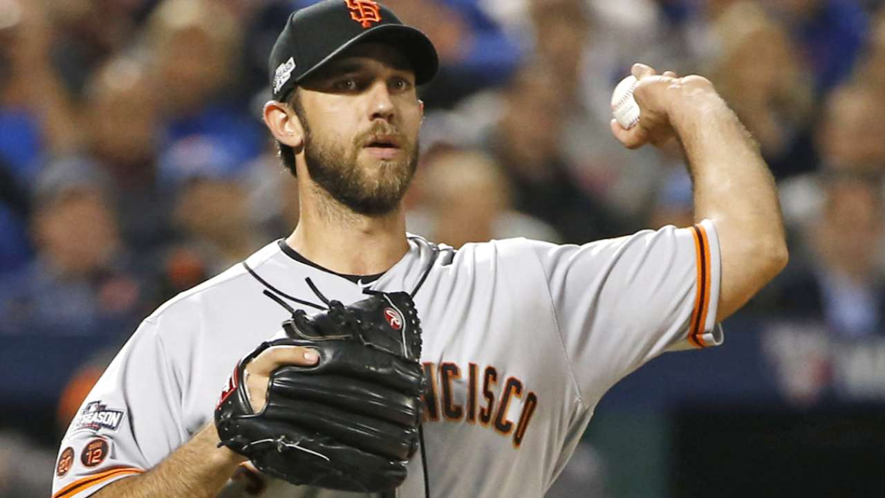 Bumgarner on postseason success