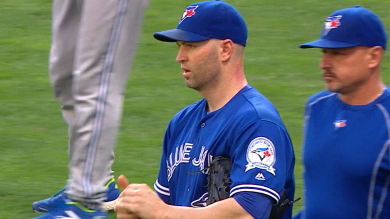 Happ on his pitching mentality