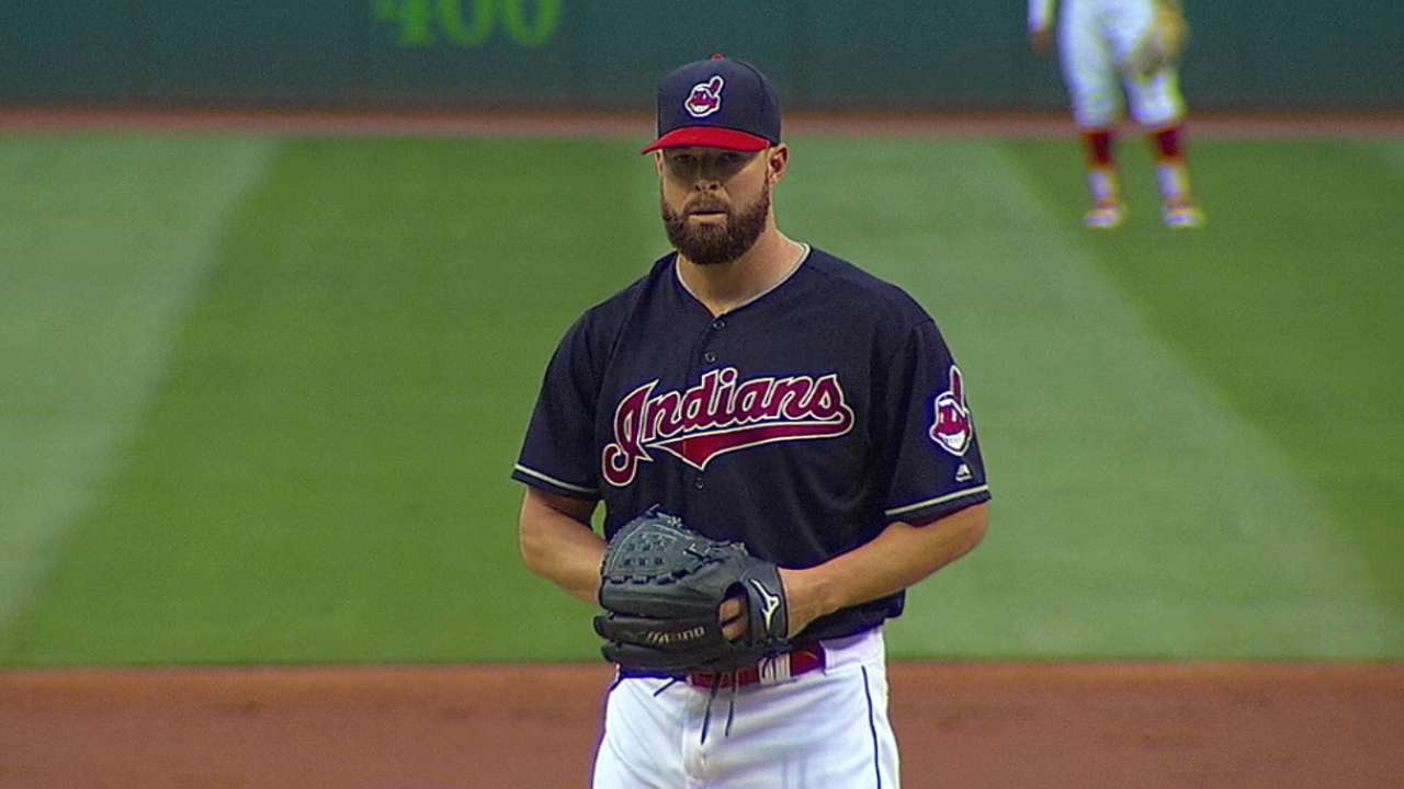 Holding Kluber for Game 2 has its benefits