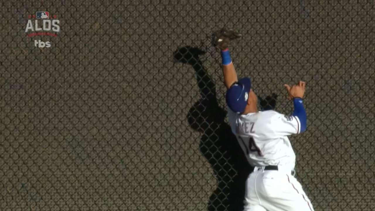 Gomez's amazing catch