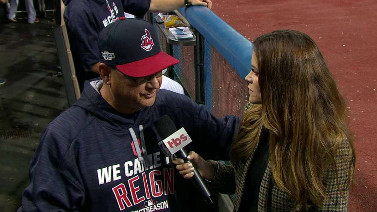 Francona on the early innings