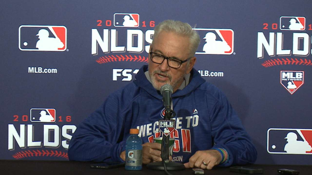 Maddon prepared for bullpen chess match