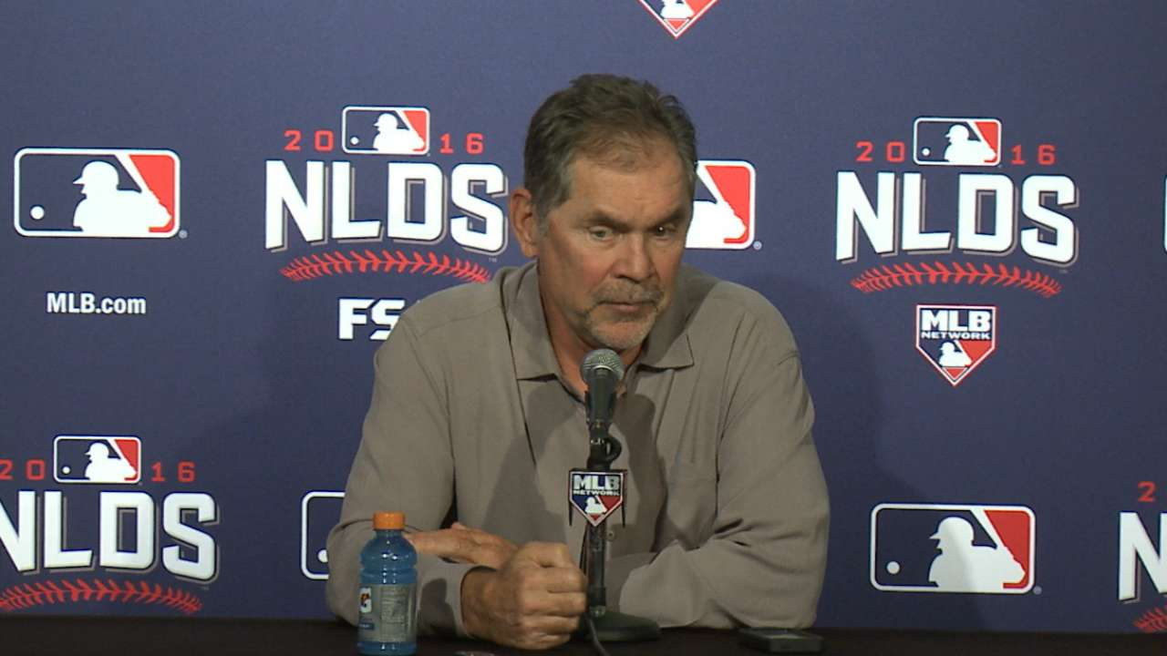 Bochy on challenge vs. Cubs