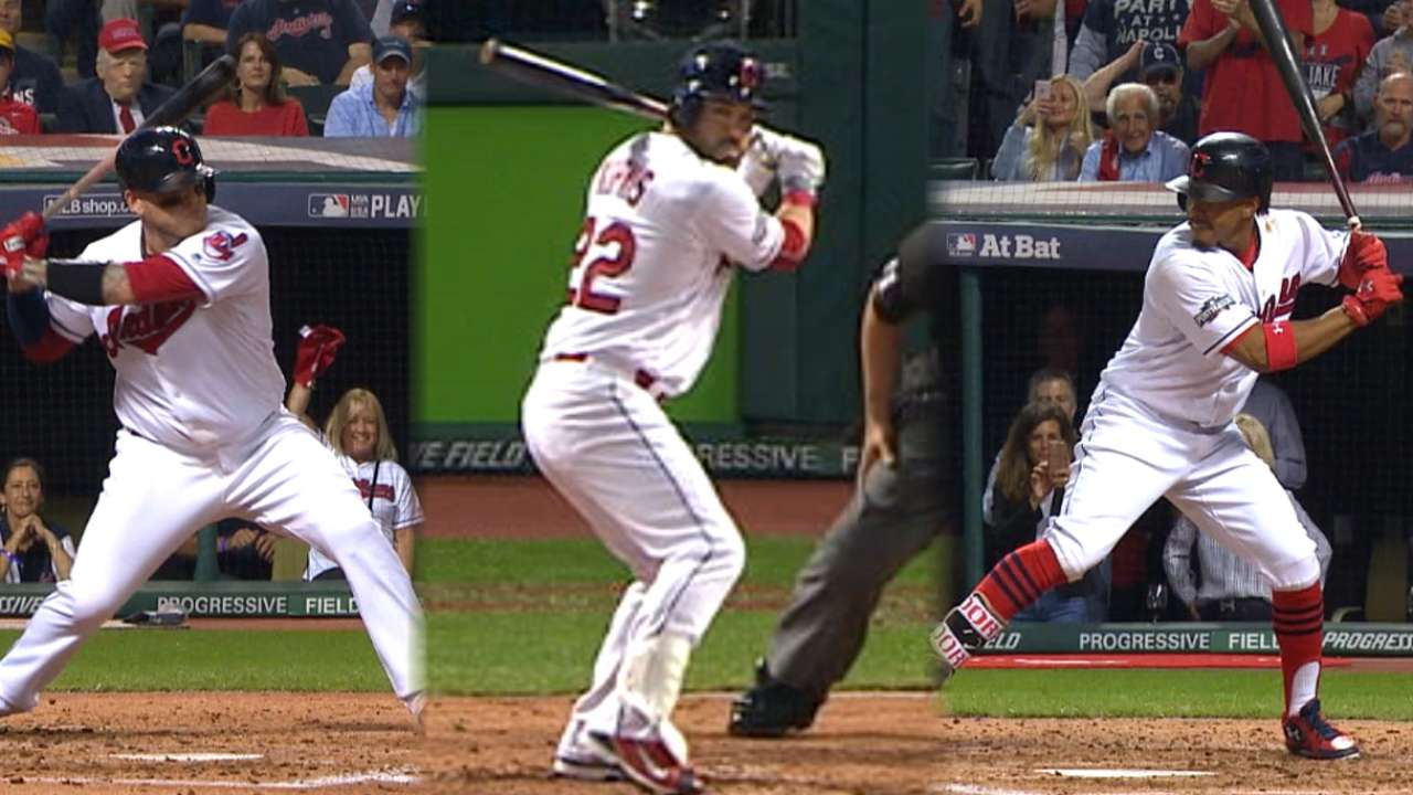 Indians, Red Sox flex muscles with 6 homers