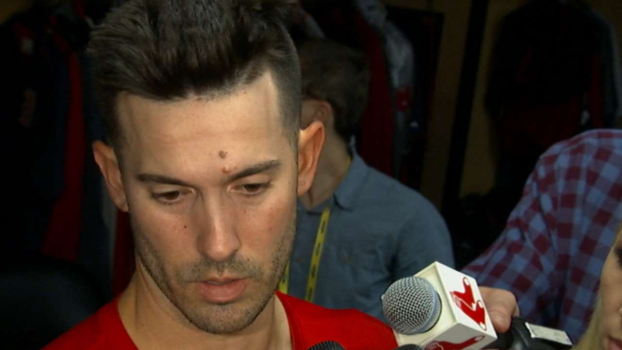 Porcello discusses Game 1 outing