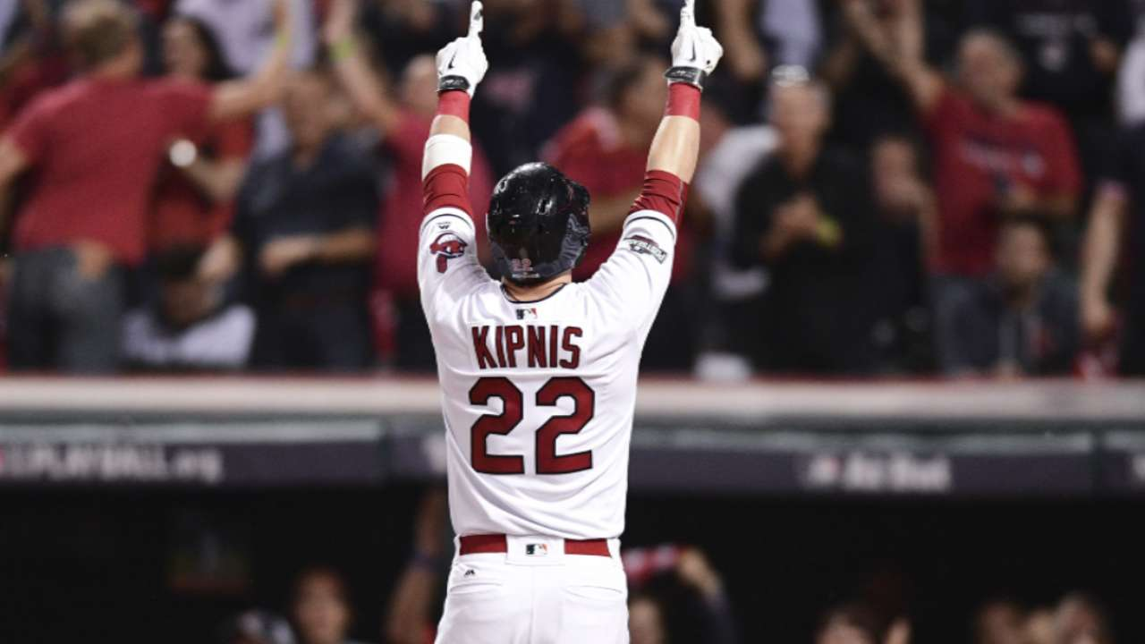 Kipnis on Indians' three homers