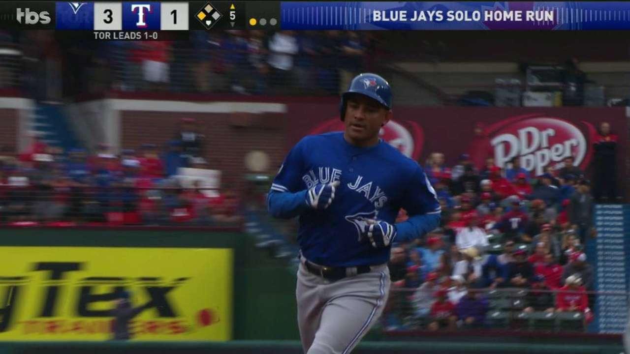 Exuberant Ezequiel providing Blue Jays' spark