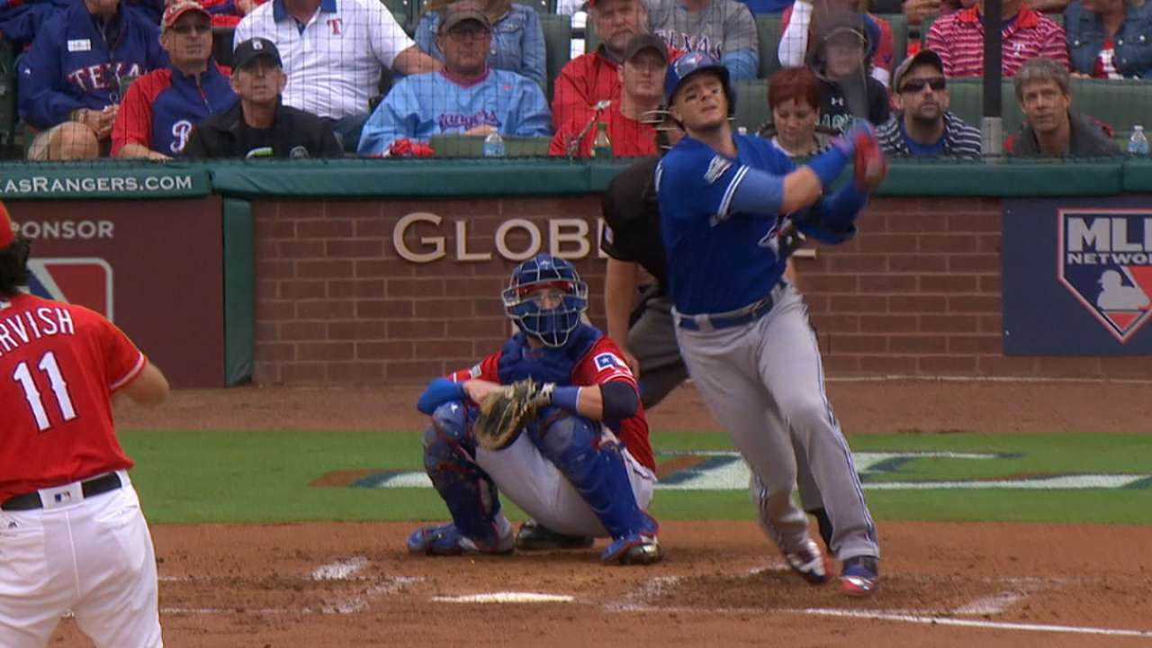 Tulo stays hot, homers off Darvish