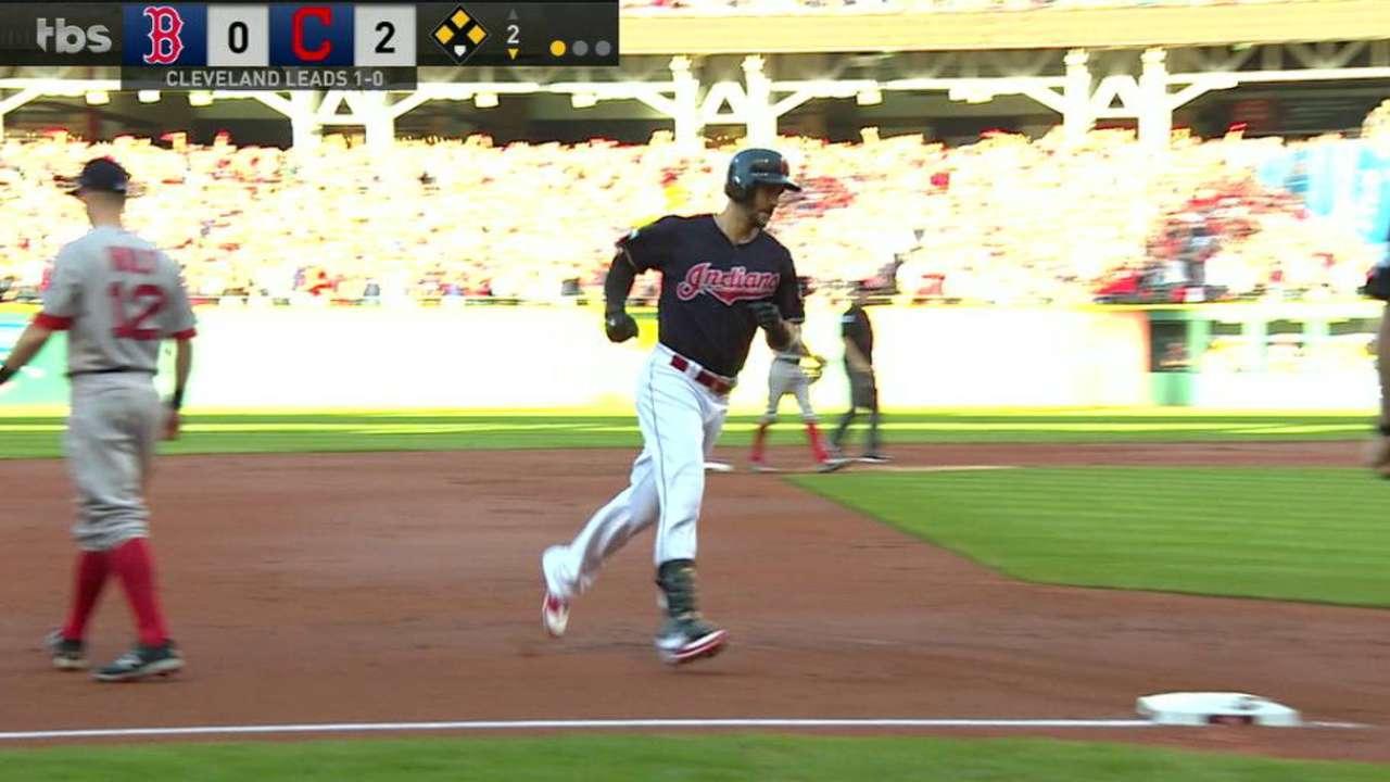 Chisenhall's three-run homer