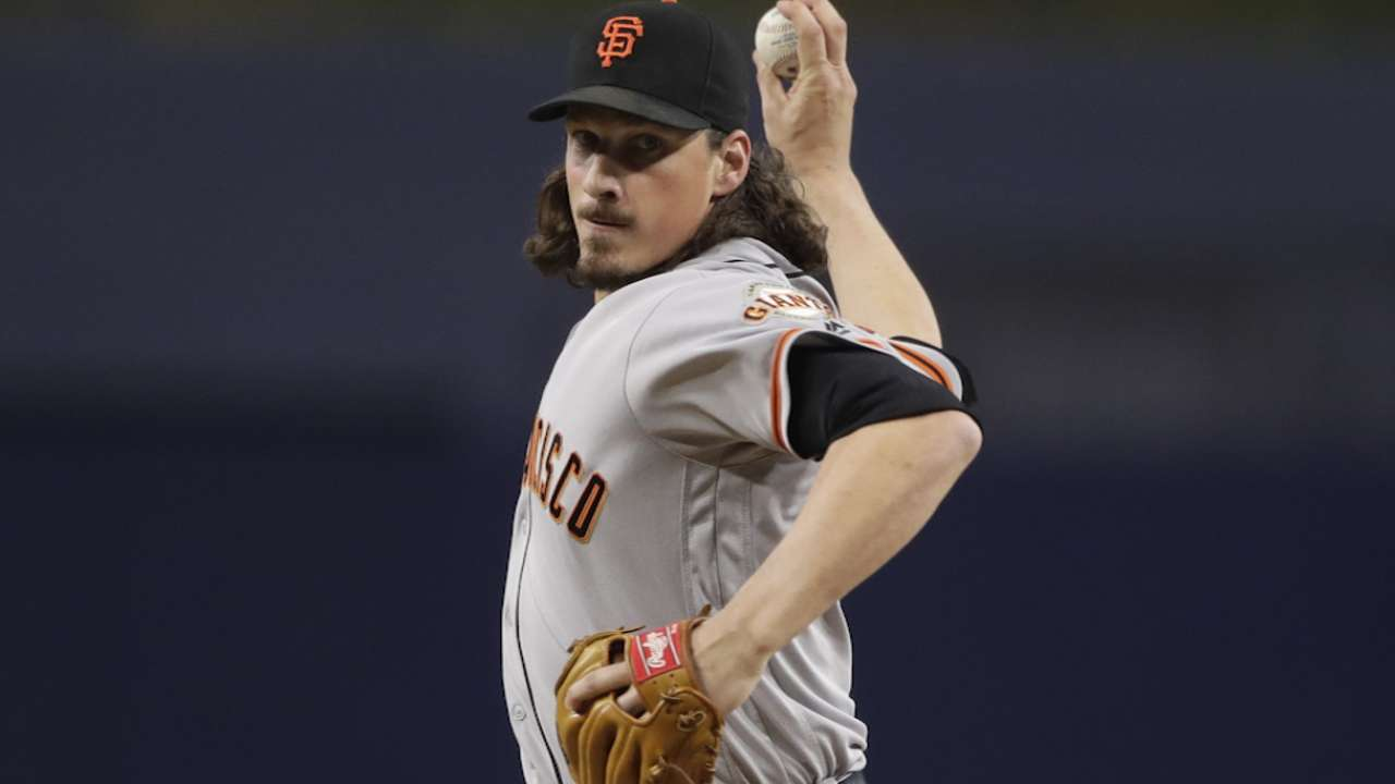 Samardzija on first postseason