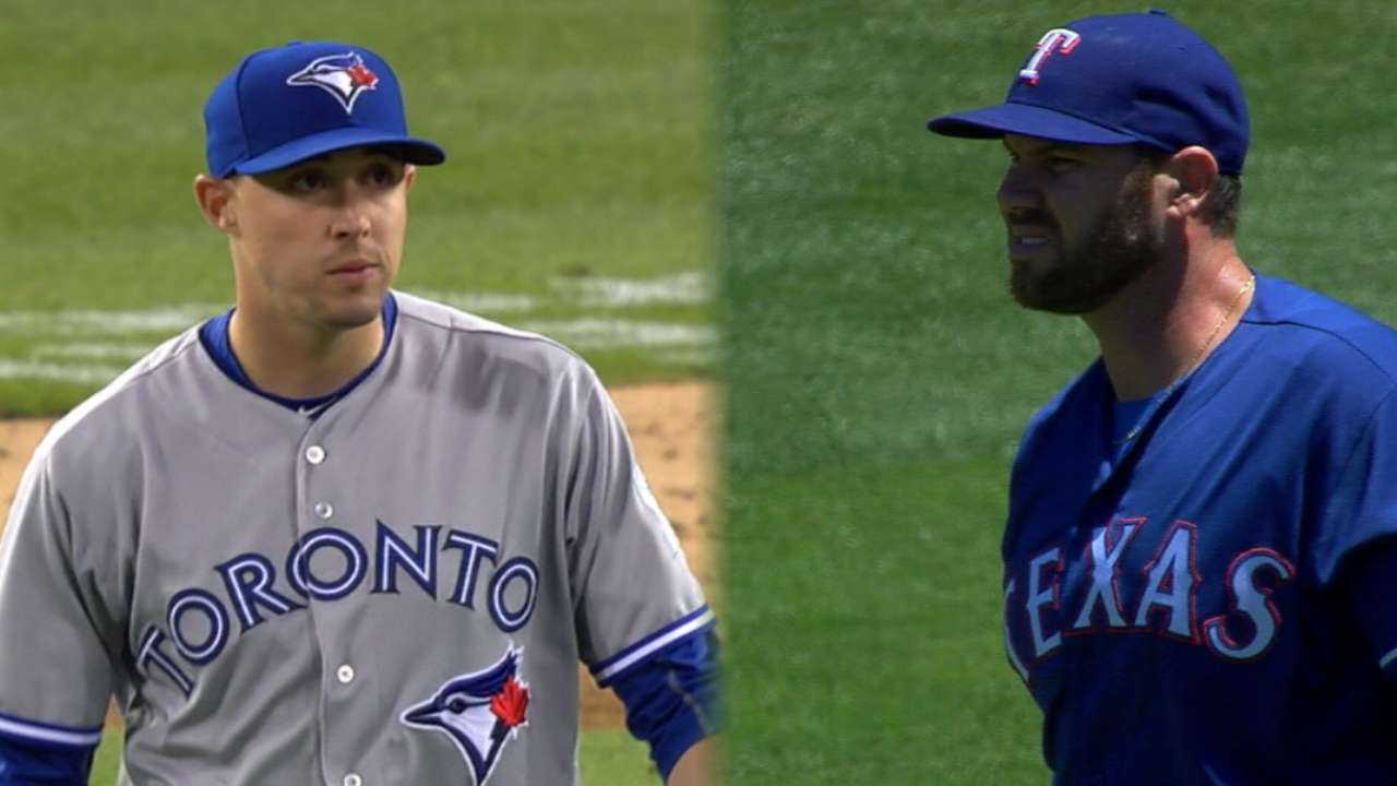ALDS Game 3 lineups: Rangers vs. Blue Jays