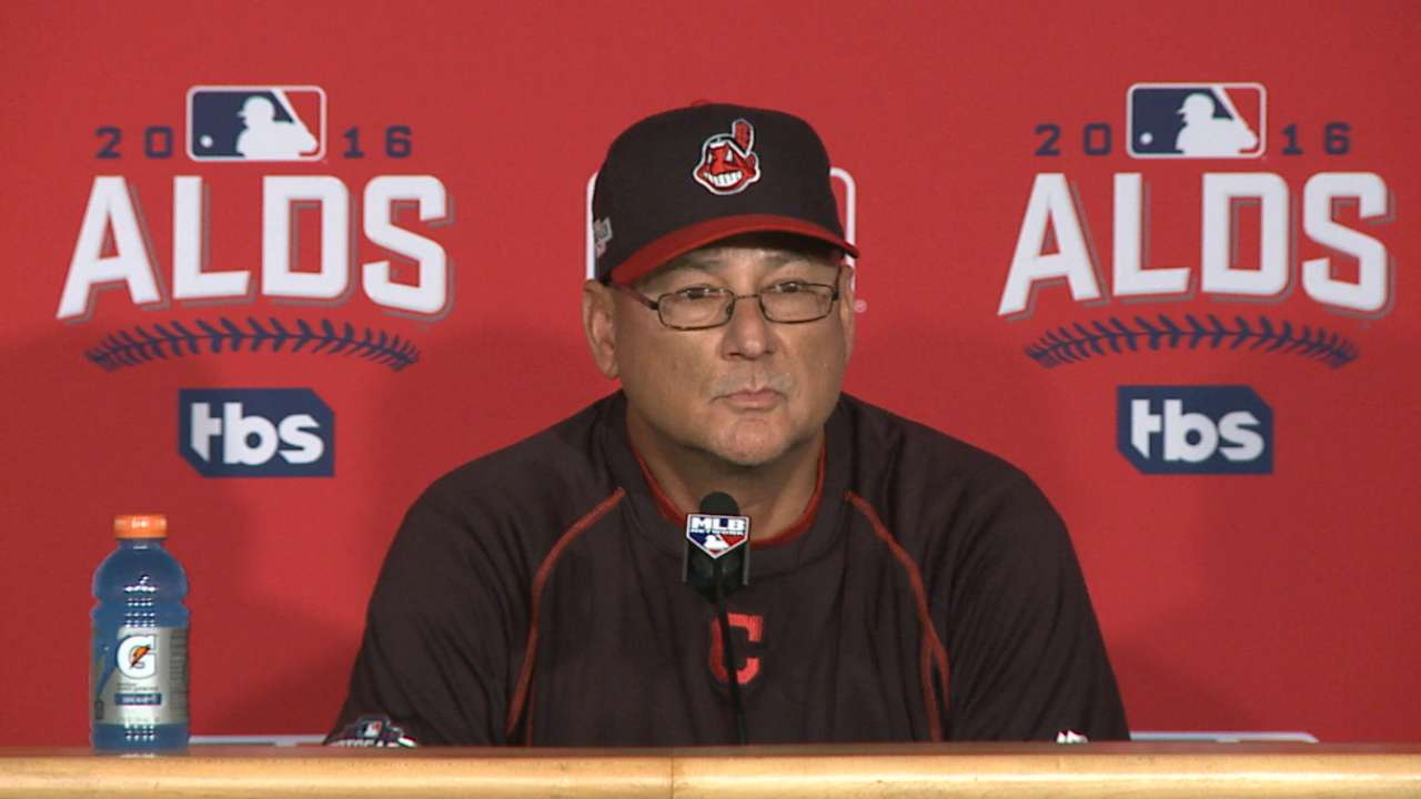 Oct. 7 Terry Francona postgame interview