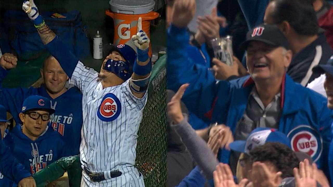 Kiss it good Baez! Cubs win 1-0 duel