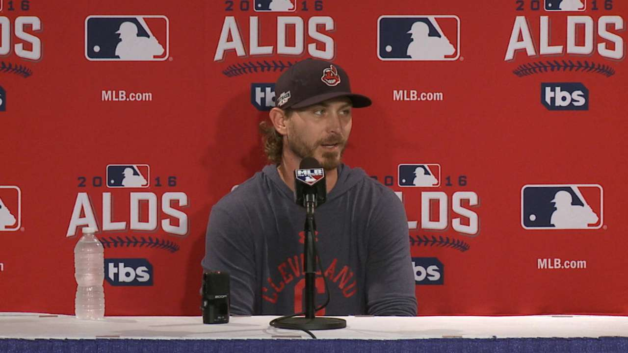 Tribe trusts Tomlin for Game 3 tonight