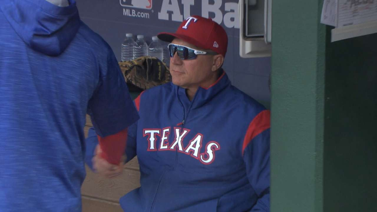 Oct. 8 Jeff Banister workout day interview